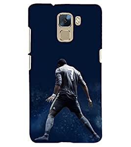printtech Back Case Cover for Huawei Honor 7 Enhanced Edition