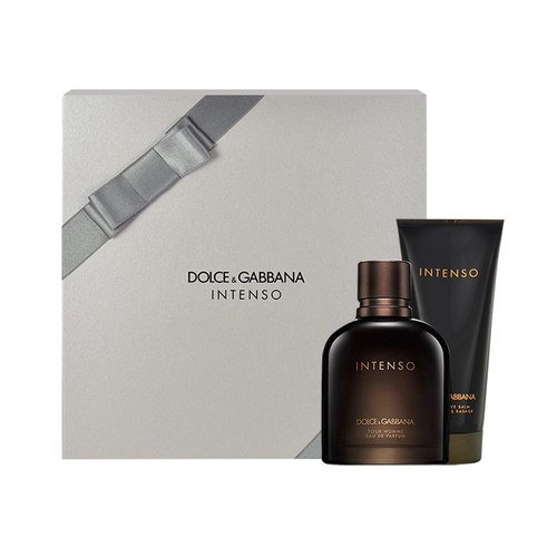 Dolce&Gabbana Intenso Xmas Set : 75ml Eau de Parfum + 100ml After Shave Balm