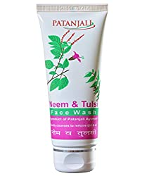 Patanjali Neem & Tulsi Face Wash 60 gm removes the dryness and makes healthy