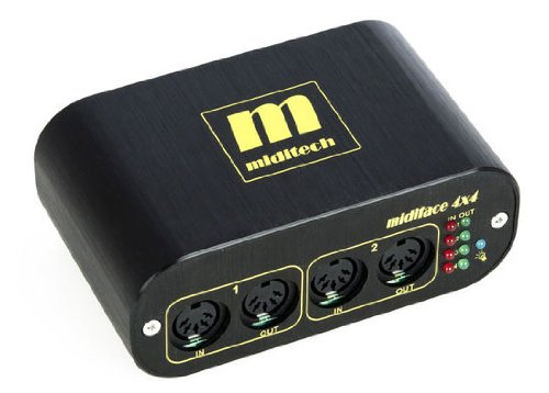 Miditech MIT-00151 Midiface 4x4 Midi Interface
