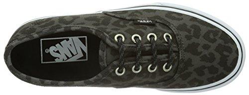 Vans U AUTHENTIC, Sneaker Unisex - adulto Nero (Leopard/Black)