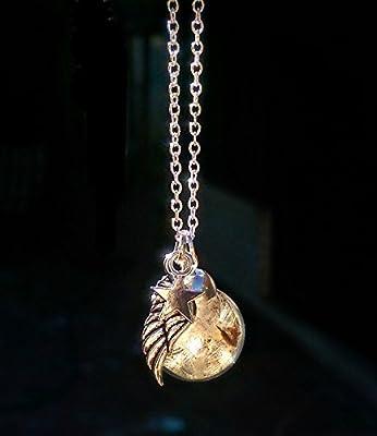 Chaîne en argent sterling Collier de pissenlit breloque aile d'ange étoile Boite cadeau - Cadeau pour les femmes perte infantile cadeau d'anniversaire