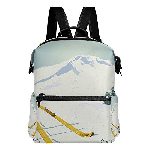 COOSUN Berge und Ski Ausrüstung Schnee Schule Rucksack-Spielraum-Rucksack Multi (Berg-ski-träger)