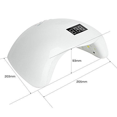 Zoom IMG-1 lampada uv led 36w asciuga