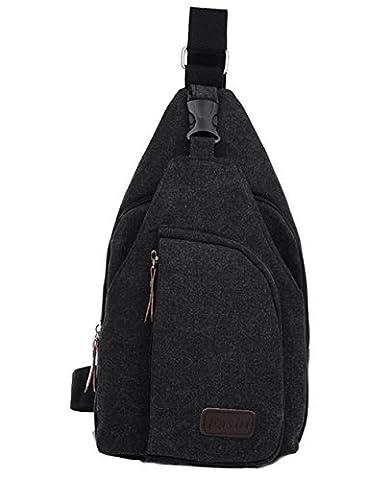 lemongirl Sling Brust Tasche für Herren Damen, Unisex Schulter Umhängetasche Rucksack für Reisen Wandern Camping Radfahren Mini Adult Handtasche Rucksack One Size (Element Reiniger)