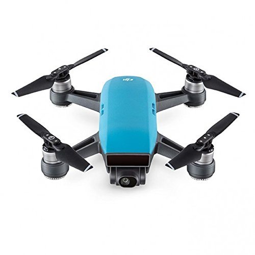 DJI Spark dron Sky azul