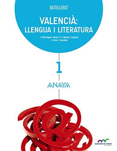 Valencià: llengua i literatura 1. (Aprendre és créixer en connexió) - 9788467827729 por Vicent Berenguer Aznar