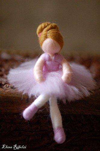 Sofì, ballerina, in lana fiaba, ispirazione Waldorf