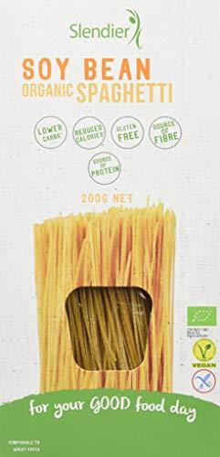 Slendier Soy Bean Organic Spaghetti, 200 g, Pack of 6
