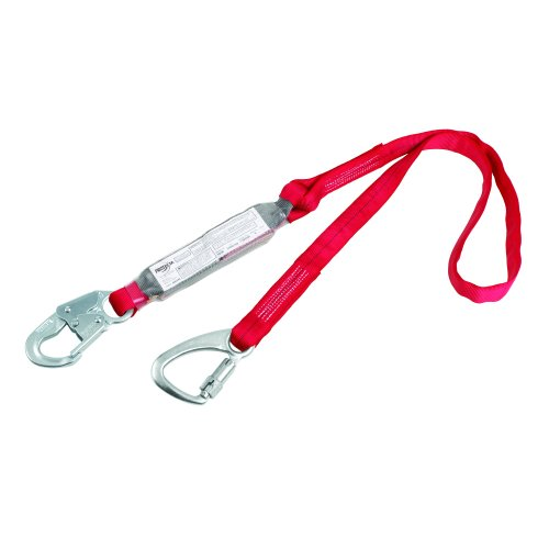 3m-protecta-pro-1340040-6-foot-tie-back-shock-absorbing-lanyard-snap-hook-at-one-end-tie-back-carabi