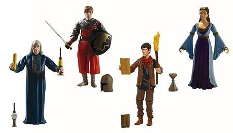 Merlin – Die neuen Abenteuer Actionfiguren, 4er Set