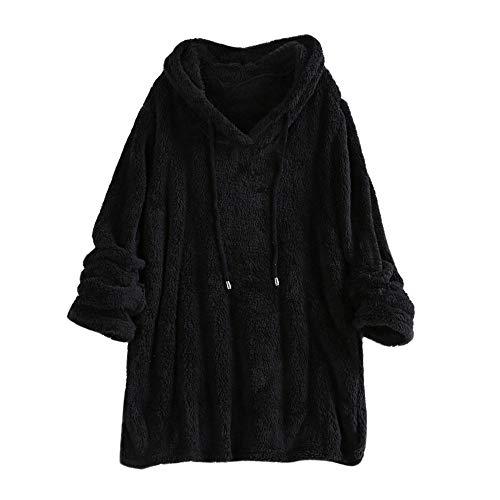 HARRYSTORE Sweatshirt Blanket Queen Größe Frauen Planeten Grafik Print Lässige Dicke Crop Hoodie Sweatshirt Top Jacke Damen Winter elegant Print Wrap Jacke
