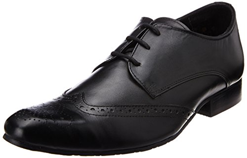 Carlton London Men's Kenton Leather Formal Shoes