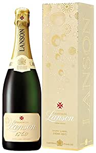 Lanson Ivory Label NV Demi Sec Gift Box 75cl