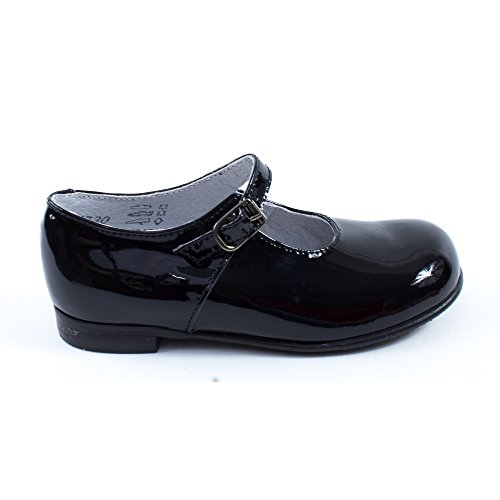 Ballerines Little Mary LELENA vernis noir Noir
