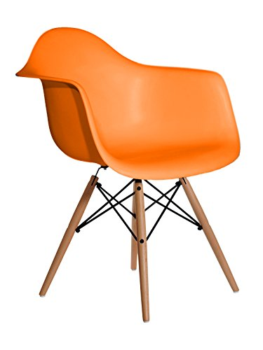Aryana Home Eames Replik Sessel, 59x 62x 82,50cm 59x62x82.5 cm orange