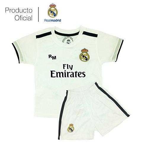 Box 1º Equipo Sergio Ramos Real Madrid JR 2018-2019 Conjunto Niño (T/6)