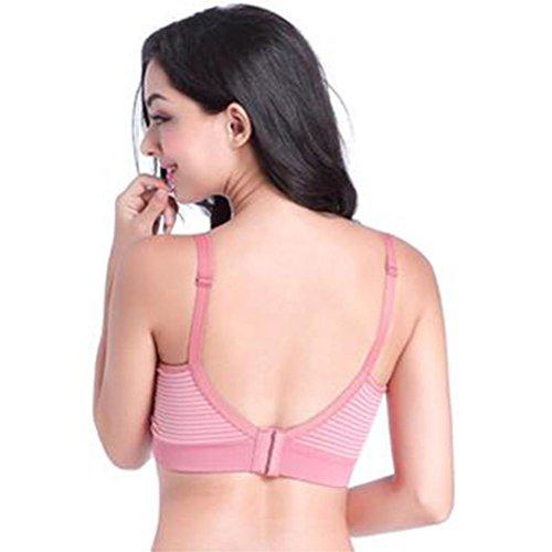Soutien-gorge sous-vêtements pour femmes enceintes aucun agent fluorescent pour éviter les rayures tombantes Soutien gorge m