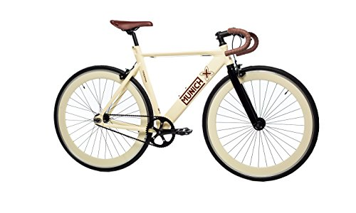 Moma Bikes Fixie Urban Bike, Fixie MUNICH CASUAL, Full Alu (Various Sizes)