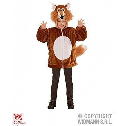Lively Moments Niedliche Jacke/Kinderkostüm als Fuchs mit Kapuze für Kinder Jacke Gr. 98 cm / 1-2 Jahre (1 Kapuzen-jacke)