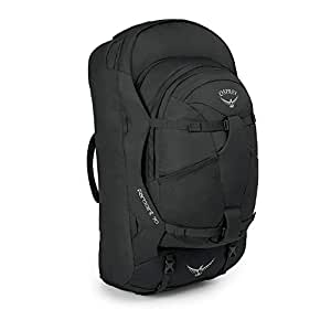 Osprey Farpoint 70 Men's Travel Pack with 13L Detachable Daypack - Volcanic Grey (S/M)