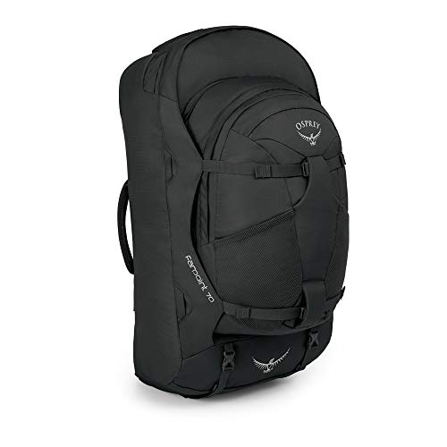Osprey Farpoint 70 Men's Travel Pack with 13L Detachable Daypack - Volcanic Grey (M/L)