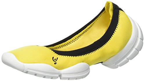 FREDDY 3proballerina, Scarpe da Fitness Donna Giallo (Senape)