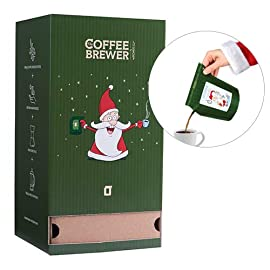 Advent Calendar with Specialty Coffee, 25 Coffeebrewers, Brew 50 Cups, 12 Different Coffee Farms. Each Day a New Santa…