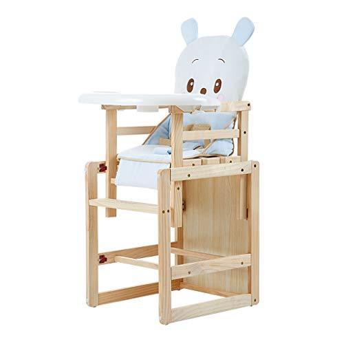Pliable en Bois Chaise Haute Chaise de Salle à Manger pour bébé Multifonction Portable Les Enfants apprennent à s'asseoir sur la Chaise de Table Structure Ultra-Stable Facile à Nettoyer