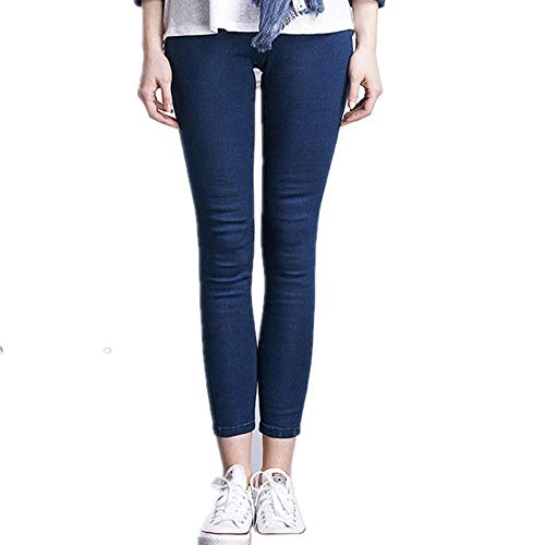 570e6645bf1 RACEER Womens Pants Jeans Pant Casual Women Slim Stretch Cotton Denim  Trousers for Woman Blue