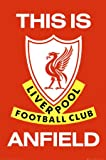 1art1 39836 Football Liverpool This Is Anfield Poster 91 x 61 cm