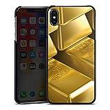 DeinDesign Apple iPhone XS Max Hülle Case Handyhülle Goldbarren Gold Barren