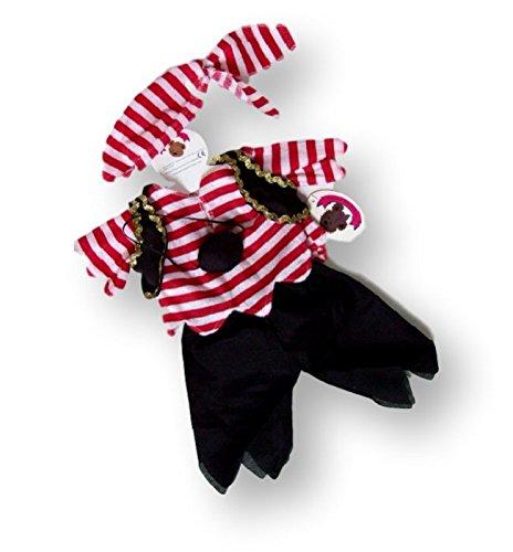 Baue Dein Bears Kleiderschrank 15Zoll Teddybären Kleidung Pirat (Piraten Kleidung)