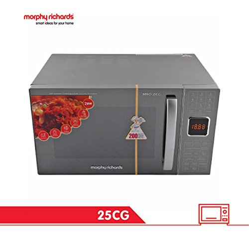 Morphy Richards 25CG with 200 ACM 25-Litre Convection Microwave (Silver)