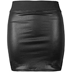 ONLINE FASHION STORE - Falda - para mujer Negro negro M/L (40-42)