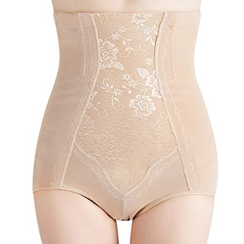 POLLYEDEN Frauen-hohe Taillen-Steuer-Schlüpfer-Nahtloser Bauch-Bauch, der Hosen Shapewear-Gürtel-Unterwäsche abnimmt -