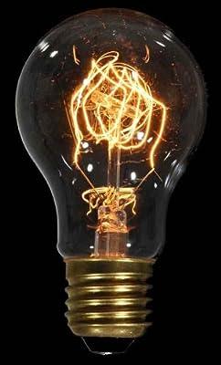 DANLAMP Schmucklampe Carbon de luxe rustikal 60W / 240V / E27 / antik von DANLAMP - Lampenhans.de