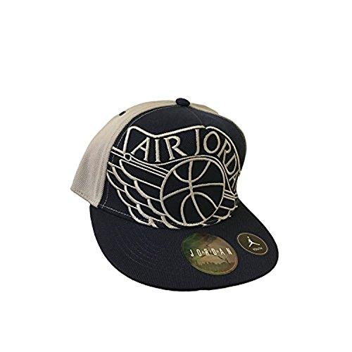 Youth Air Jordan Athletic Snapback Hat (8/20, Blue/Grey) (Hat Athletic)