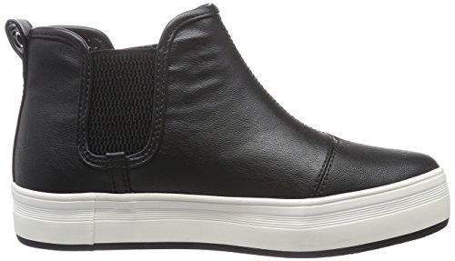 Pepe Jeans Damen Versa Chelsea Schlupfstiefel Schwarz (Black 999)