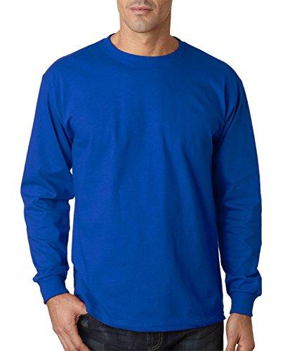 Jerzees 363L 5,6g stoßabsorbierender von algodón-con mit Patte und t-camiseta-Shirt Blau