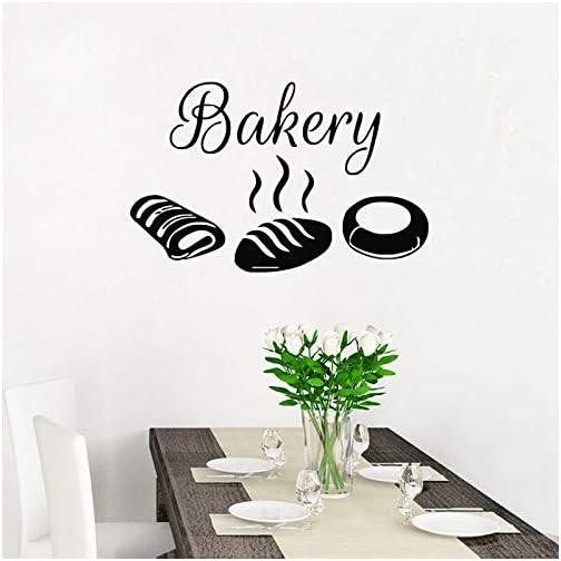 zxddzl Adesivi da Parete per panetteria Adesivi Decorativi da Cucina  Impermeabili Pane Cibo Home Decor Stickers murali Vinile Poster 44X69cm