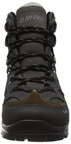 Hi-Tec Altitude Ultra I Waterproof, Chaussures Bébé marche homme Marron (Olive/charcoal/steel 061)