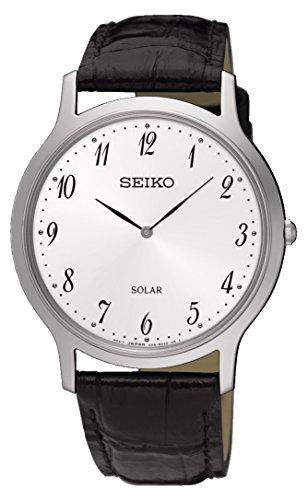 Solar Uhr mit Leder Armband SUP863P1 ()