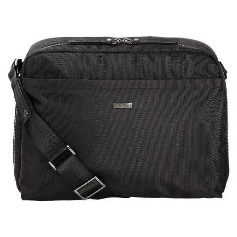 bugatti Contratempo Borsa a tracolla 34 cm compartimente portatile Laptop Nero