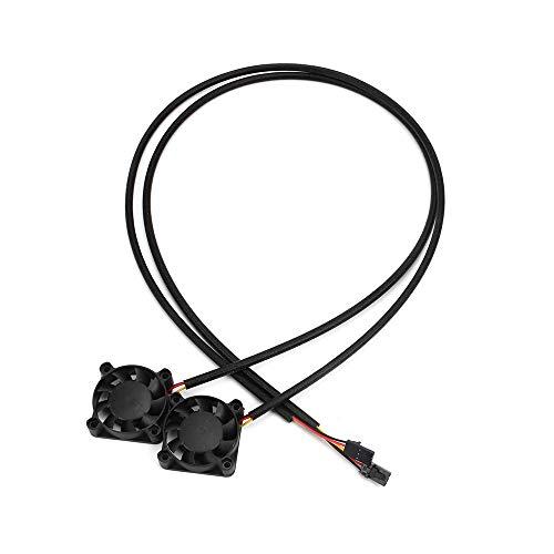 FYSETC Prusa i3 MK3 Kühlgebläse 4010 40 x 40 mm DC 5 V 0,2 A Hotend Kühler für 3D-Drucker DIY Teile, Zubehör, 2 Stück -