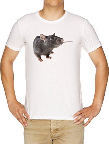 Ratte Kleid (Vendax Ratte Herren T-Shirt Weiß)