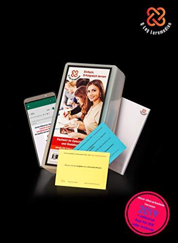 Lernkarten (673 Stück, gedruckt A7) + App + Box für den Fachwirt im Gesundheits- und Sozialwesen | Auflage 2019 | Komplettsatz mit allen 6 Fächern