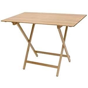 Tavolo tavolino pieghevole birreria legno naturale - Ikea tavolino pieghevole ...