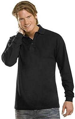 Polo Longsleeve für Männer Farbe White Größe S von Stedman auf Outdoor Shop