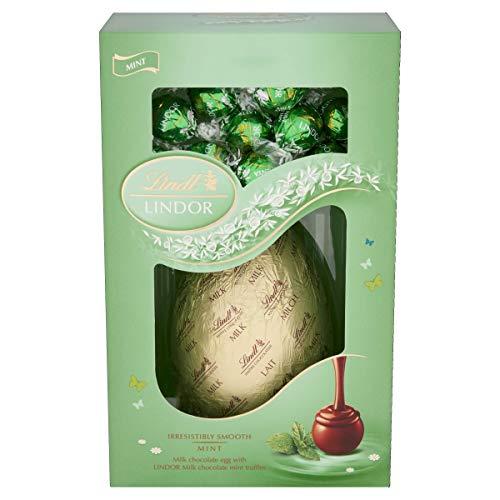 Lindt menta Pasqua Uovo 285g Lindor Irresistibile Liscio Cioccolato tartufi marsupio